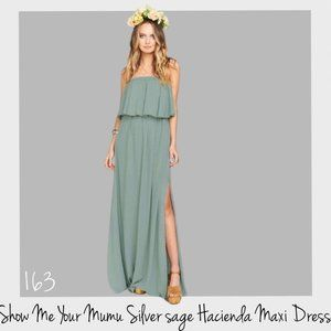 Show Me Your MuMu Hacienda Maxi Dress Small